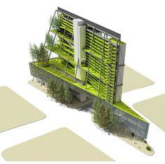 Vertical farm in downtown Seattle