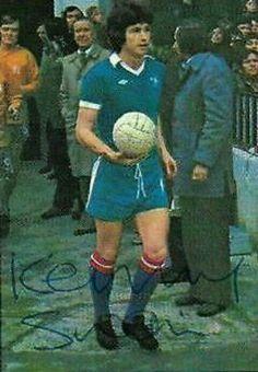 Ken Swain of Chelsea in 1975.