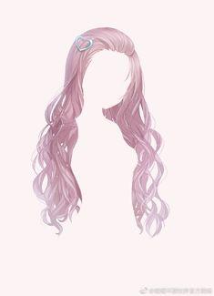 Cute Hairstyles, Anime Hairstyles, Pelo Anime, Manga Hair, Hair Sketch, Anime Dress, Fantasy Hair, Hair Reference, Drawing Clothes