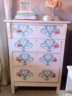 Dresser Redo - don't like this one as much, need to look closely to see why to make sure I get it right the first time
