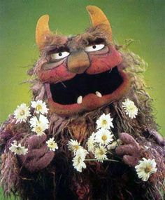 """Trivia fact about myself: This guy is my favorite obscure Muppet. He's called """"Luncheon Counter Monster"""". Kevin Clash, Nancy Walker, Muppets Christmas, The Muppet Movie, Roy Clark, The Cosby Show, Fraggle Rock, Marionette, Jim Henson"""