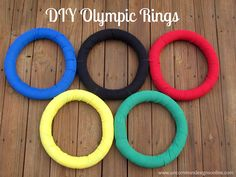 Six Sisters' Stuff: 25 Olympic Snacks and Party Ideas
