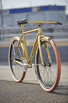 Speedvagen Urban Racer Solid Gold    via Flickr