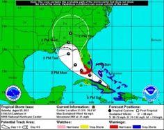 Isaac Delays Half a Dozen Cruise Ships From Coming to Florida.