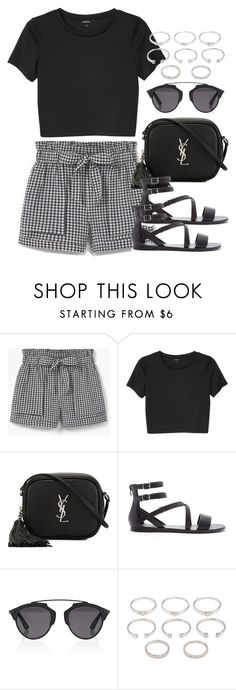 """Style #10445"" by vany-alvarado ❤ liked on Polyvore featuring MANGO, Monki, Yves Saint Laurent, Forever 21 and Christian Dior"
