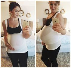"""""""HOLY GAMECHANGER!!  My body responds to pregnancy like a grandma...My back aches...my knees hurt...When I discovered the maternity supportwear at Blanqi I am pretty sure I did a little happy dance..."""""""