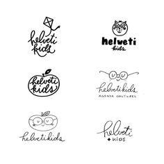 Be Wild Studio☽ Nicole & Co sur Instagram: Recherches logo Helvetikids ♡ #branding #brandidentitydesign #logodesign #kidsmood #kidsbrand #graphicdesign #bewilddesignstudio… Brand Identity Design, Logo Design, Graphic Design, Studio Design, Branding, Logos, Instagram, Logo, Brand Identity