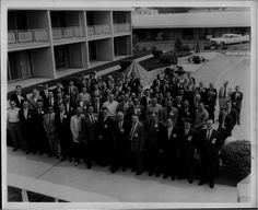 national sales meeting, cylinder manufacturing (Don Sheffer, front row w/ white shoes)