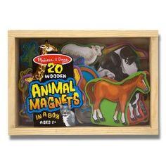 Melissa and Doug 475 - Magnet Tiere im Kasten: Amazon.de: Spielzeug