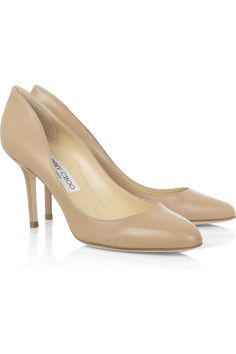 hi there Jimmy :)  Jimmy Choo Gilbert leather pumps NET-A-PORTER.COM #fashion #shoes #jimmychoo
