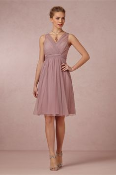 Again, with the mauve. Bummer. Tansy Dress in Bridal Party & Guests Bridesmaids Dresses at BHLDN