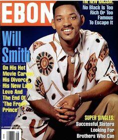TC Flashback: #WillSmith covers #Ebony Magazine in 1996.
