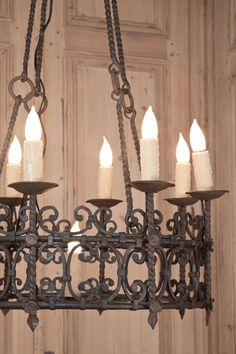 Vintage Country French Wrought Iron Chandelier - Vintage Wrought Iron Chandeliers Ideas: Vintage Style Wrought Iron Patio Furniture