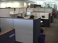 cubicle, layout, shelves