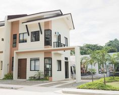 Single Attached (front view) Php as low as Php Php, Tropical, Mansions, House Styles, Home Decor, Decoration Home, Manor Houses, Room Decor, Villas