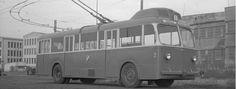 Tampereen Härmälänrannan historiaa. / Historic Härmälänranta had a trolley car service.