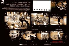 """THREE FLOORS"" Print Ad  by Anderson & Lembke Europe"