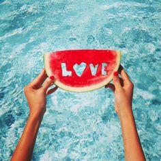 Watermelon Love // #radwhiteandblue