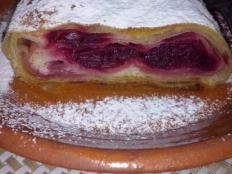Štrúdla - višne Strudel, French Toast, Sandwiches, Breakfast, Recipes, Food, Morning Coffee, Essen, Eten
