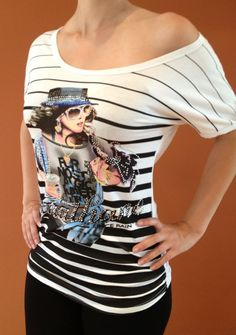 Dámske tričko Dalila- biele
