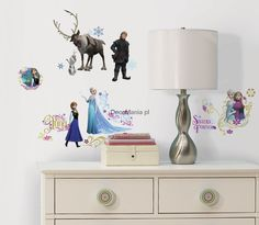 Naklejki dla dzieci - RoomMates - Disney RMK2361SCS Kraina Lodu