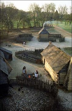 Slave quarter at Carters Grove, a few miles from Colonial Williamsburg's Historic Area