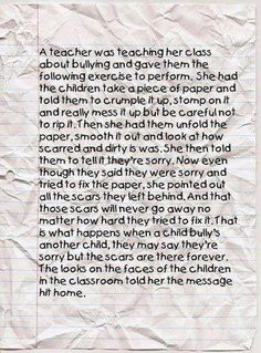 My teacher did this. Stop the hate no one deserves it