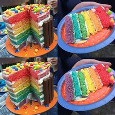 Rainbaw cake