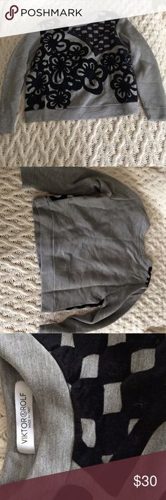 Viktor & Rolf made in Italy sweater Excellent condition. Very soft material. Size XS. Viktor & Rolf Sweaters