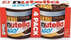 Nutella and Go Hazelnut Spread, 4 Count Pizza Hut, Pizza Dough, Gourmet Recipes, Bread Recipes, Nutella Go, Olive Garden Breadsticks, Low Fat Yogurt, Hazelnut Spread, Coupons