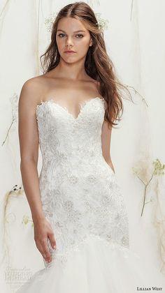 e6d292a5b29 Lillian West Spring 2016 Wedding Dresses