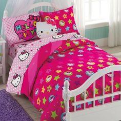 Beautiful Hello Kitty® Reversible Comforter Set   BedBathandBeyond.com Seeing How I  Do Sleep In