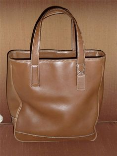 Sold = Mint Coach Hamptons Leather Small Tote Handbag Purse ~ #7787 British Tan #Coach #TotesShoppers