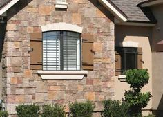 board and batten shutters - Google Search Cottage Shutters, Board And Batten Shutters, Google Images, Garage Doors, Spaces, Mansions, Google Search, House Styles, Outdoor Decor