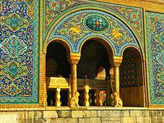 golestan palac tehran-IRAN