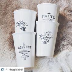 #Repost @thegiftlabel with @repostapp.  New take away mugs  #needforcoffee #takeawaycoffee #thegiftlabel #gifts #amsterdam #goodiesshop #zoutelande #domburg by goodiesshop