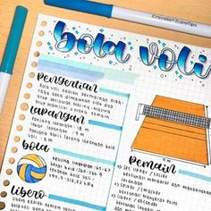 School Organization Notes, Binder Organization, School Notes, Hand Lettering Alphabet, Study Journal, Bullet Journal School, Pretty Notes, Notes Design, Study Notes