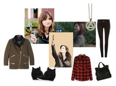 """Clara Oswald // Flatline"" by potterholic ❤ liked on Polyvore featuring Coleman, J Brand, Ash and Topshop"