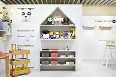 Milk opens its first children's design boutique in Tokyo.