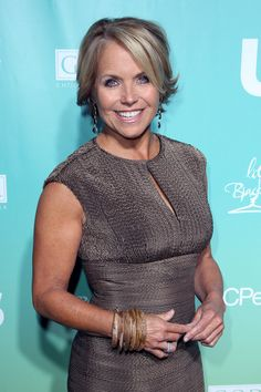 Aaron Neville In Stand Up To Cancer Arrivals Katie Couric And Hair Style
