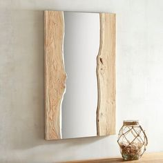 Shipwrecked 25x40 Wood Framed Mirror | Pier 1 Imports