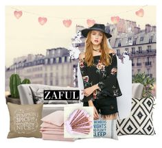 """""""Zaful 4"""" by nejra-l ❤ liked on Polyvore featuring John Lewis and Lexington"""