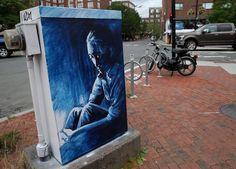 utility box public art harvard square cambridge