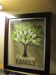 Custom Vinyl Family Tree Kit by jessicacromar on Etsy, $8.00