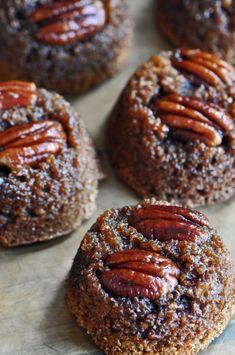 Upside-Down Maple Pecan Bran Muffins Recipe