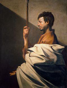 Jusepe de Ribera Saint Thomas (ca. Francisco Goya, Hieronymus Bosch, Classic Paintings, European Paintings, Caravaggio, Religious Images, Religious Art, Chef D Oeuvre, Oeuvre D'art