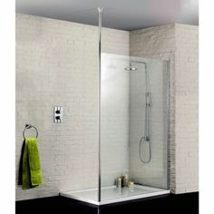 700 x 2000, wall bracket included, ceiling post extra 87. £209 + 50 delivery