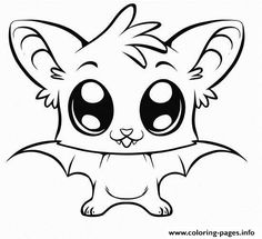 Print Cute Coloring Pages Of Animals