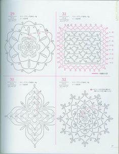 Trico Croche & Artesanato: Gráficos Em Crochê