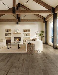Modern Farmhouse Living Room Decor, Living Room Modern, Living Room Designs, Farmhouse Decor, Farmhouse Style, Small Living, Farmhouse Ideas, Living Rooms, Farmhouse Contemporary